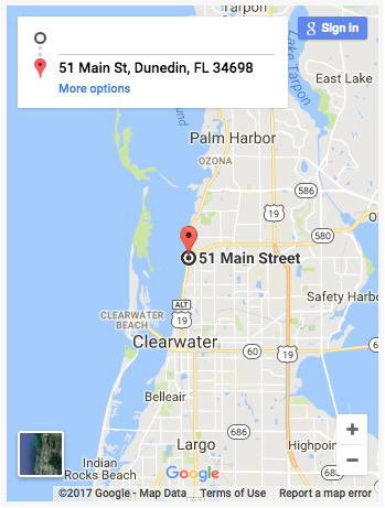 Map Of Dunedin Florida.Dunedin Craft Beer Bites Tour A 3 Hour Guided Walking Tour