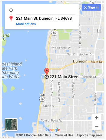 Map Of Dunedin Florida.Dunedin Food Tour A 3 Hour Guided Walking Tour Through Dunedin
