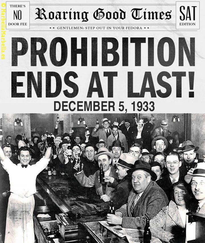 prohibition and the power of the people Gangsters during prohibition  lansky was the person responsible for lucky luciano's rise to power in 1931  controlled people through both his fear and charm.